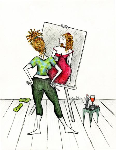 artist, paint thyself