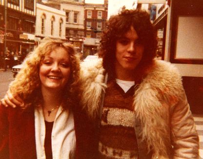 me & Andy London 1980 small